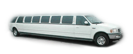 White Expedition Limo