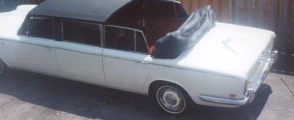 1968 Rolls Royce open top
